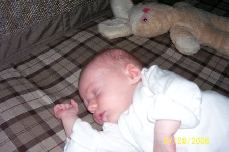 2006 napping baby Deeder
