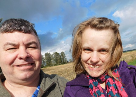 brown grass in WA. squinty smiles in the sunshine.